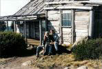 Click to enlarge; Craig's high country hut featured in the movie 'Man From Snowy River'